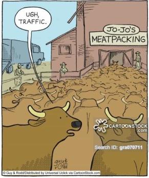 'Ugh, traffic.'
