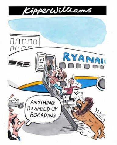 Kipper Williams cartoon 31 July 2012